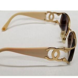 Chanel tortoise shell glasses frame